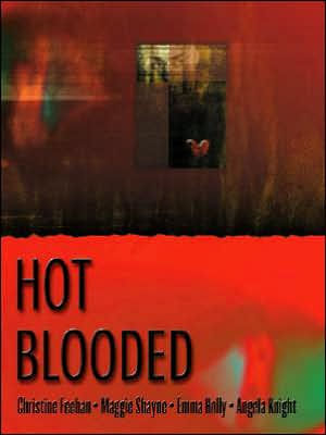 Hot Blooded Large Print Hardcover