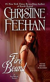 Fire Bound in paperback by Christine Feehan