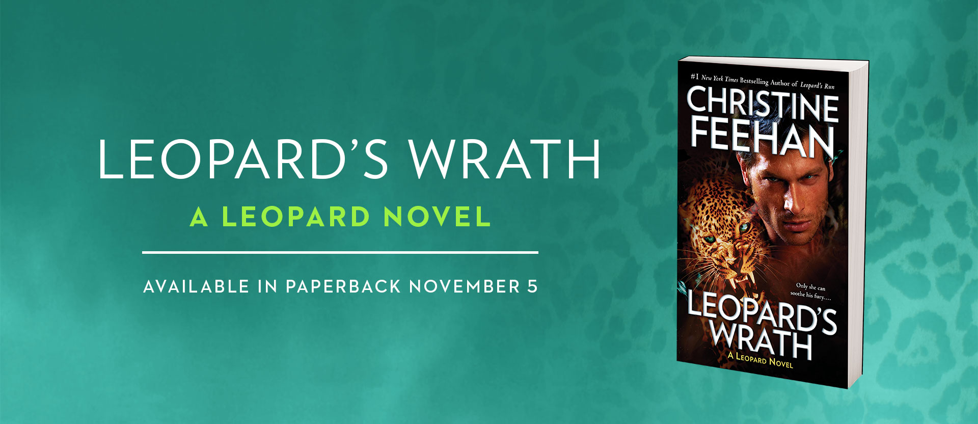 Leopards Wrath in paperback!