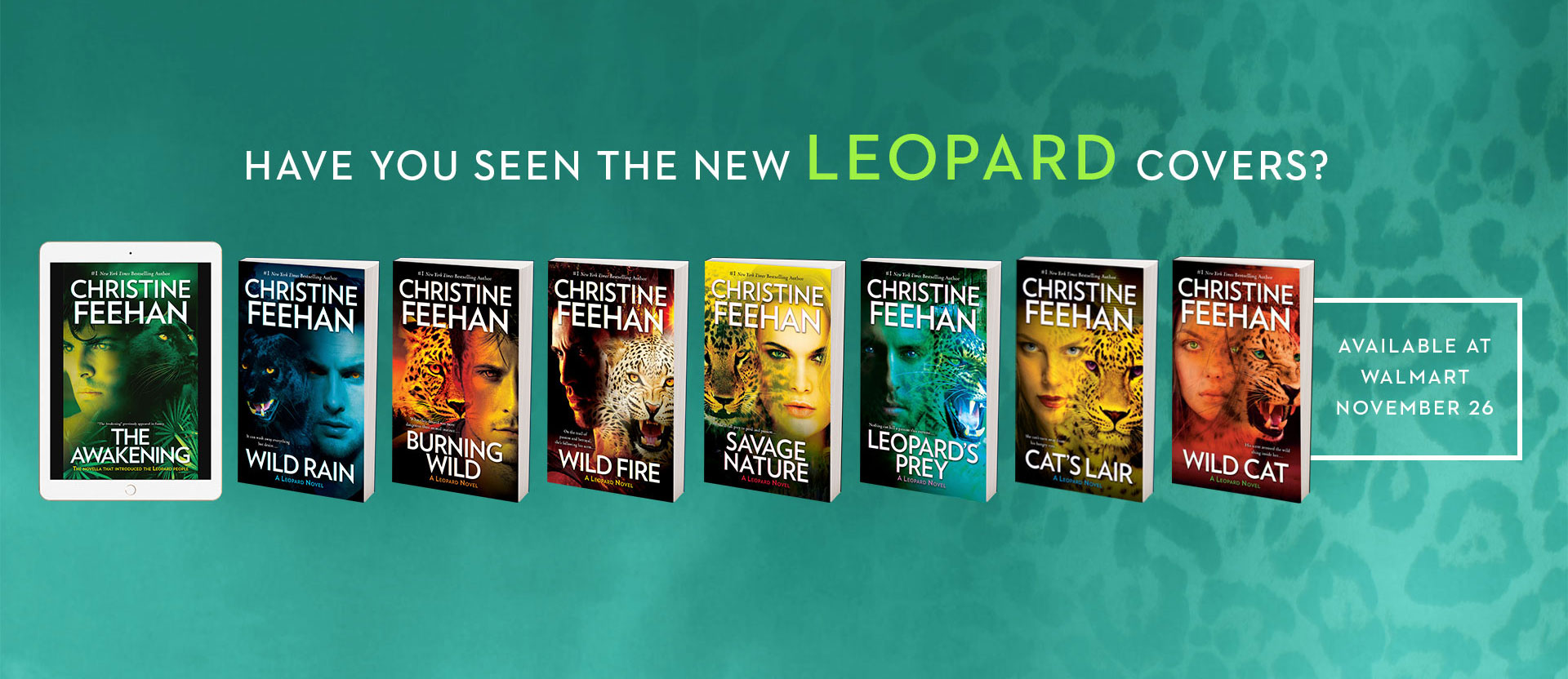 Leopard Series new covers at Walmart
