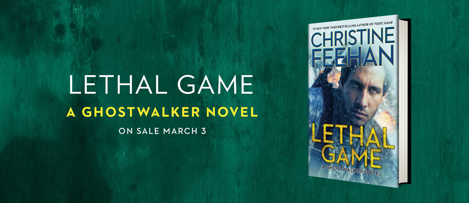 Lethal Game in hardcover!