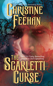 The Scarletti Curse in paperback by Christine Feehan