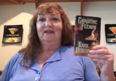 Christine talks about the winner of her heroine survey, in this Facebook Live event.